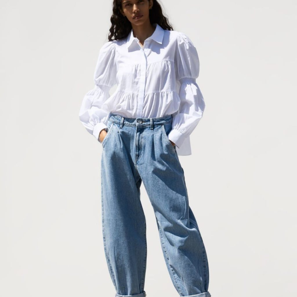 slouchy jeans inspiration