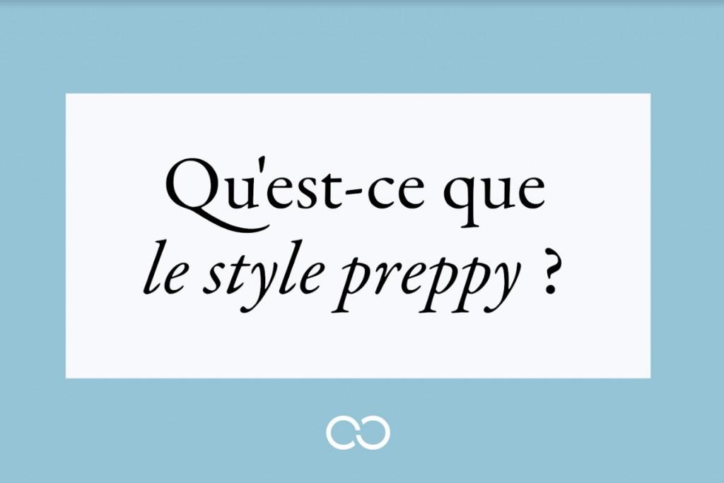 style preppy