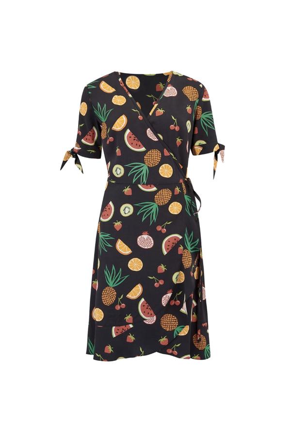 vestido wrap verano